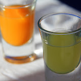 The Meal Isn't Complete Without Some Meloncello and Limoncello - Pontone, Italy