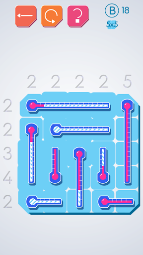 Thermometers Puzzles screenshot 2