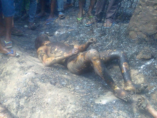 PHOTOS: Over 100 Die In Nnewi Gas Plant Explosion 19