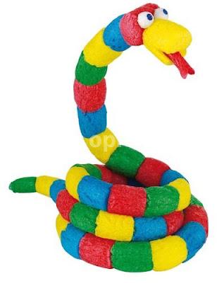 manualidades-niños-fecula-patata-material-serpiente