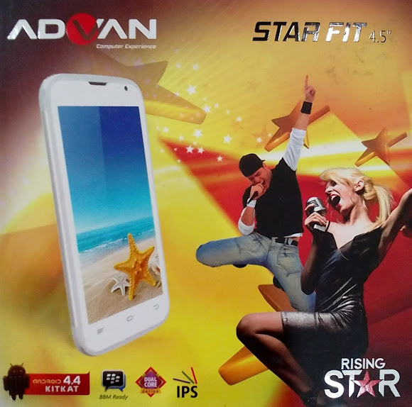 Advan Star Fit S45A - Spesifikasi Lengkap dan Harga