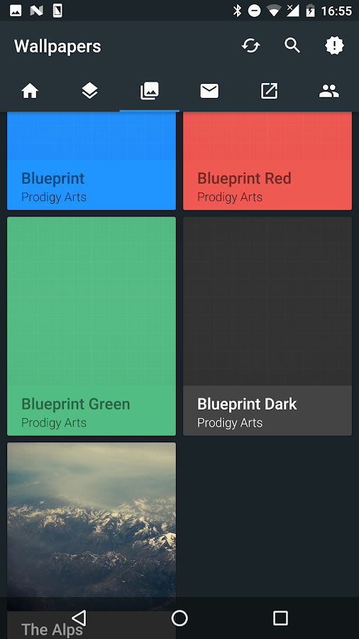 Blueprint Icon Pack (Beta) Screenshot 6
