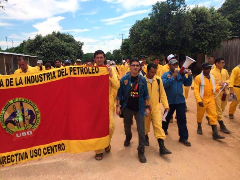 USO plantea nueva subdirectiva en Campo Rubiales para frenar violaciones de derecho