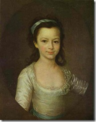 Dmitry Levitzky - Portrait of Countess Ekaterina Vorontsova as a Child