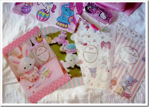 Cute Sanrio Folders