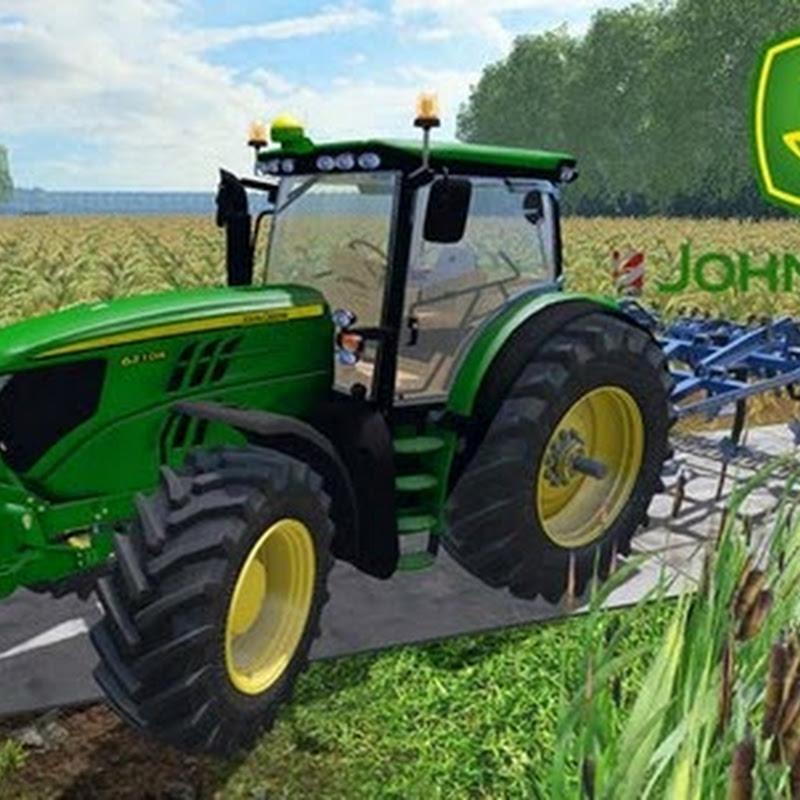 Farming simulator 2015 - John Deere 6210R v 1.1