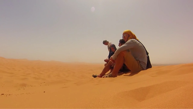 morocco sahara sand dunes erg chebbi