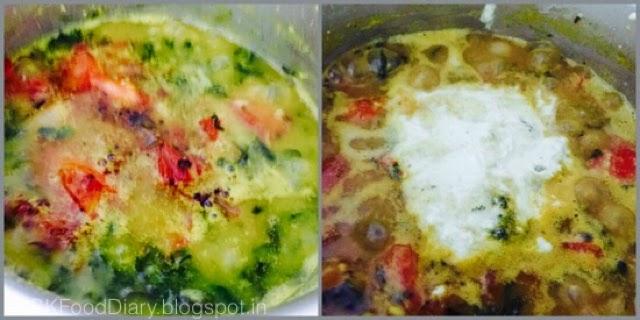 Ponnanganni Keerai Kootu Recipe (with Moong dal)| Kootu Recipes 5