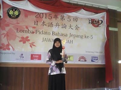 Lomba Pidato Bahasa Jepang se Jawa Tengah ke-5