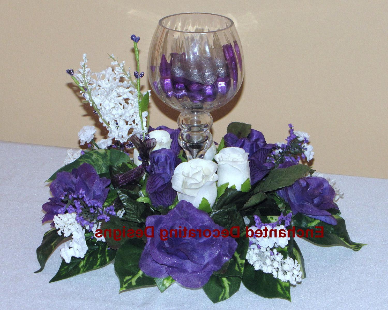 Wedding Flower Rose Candle