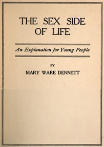 Cover of Mary Dennett's Book The Sex Side Of Life An Explanation For Young People