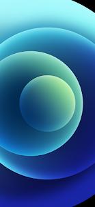 Blue Wallpaper iPhone 12