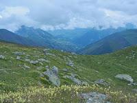 Irgendwo zwischen Col de la Croix de Fer (2067 m) und Col du Mollard (1638 m).