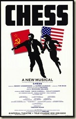 Chess Broadway Poster