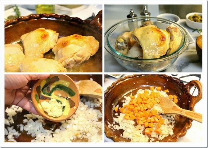 Chicken Veracruz Style | instructions step by step