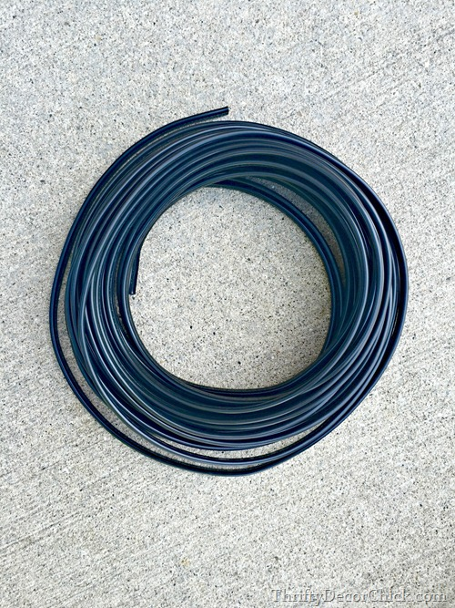 landscaping light wire