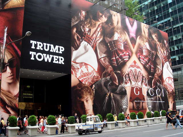 trump tower in New York City, New York, United States