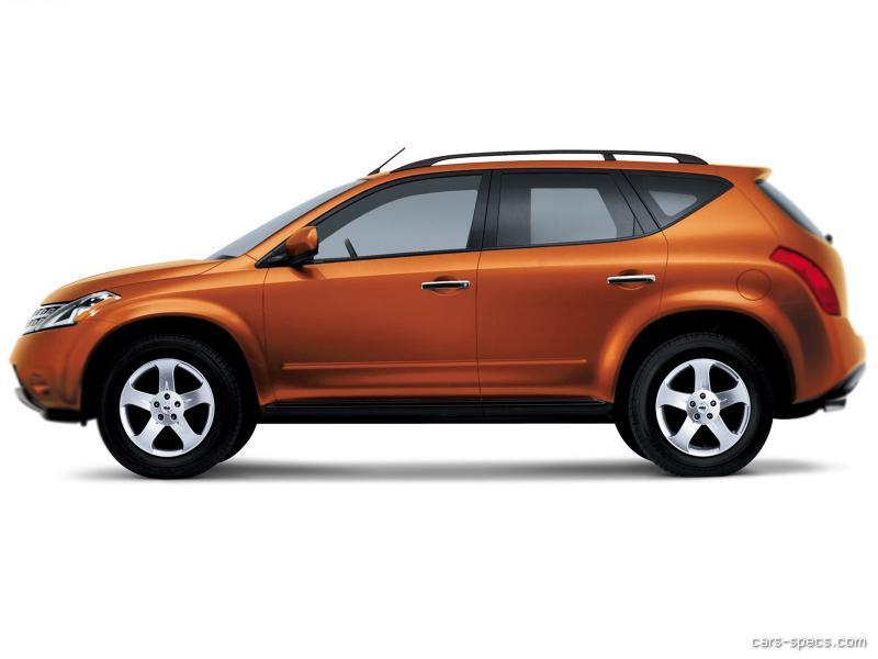 2007 Nissan Murano Suv Specifications Pictures Prices