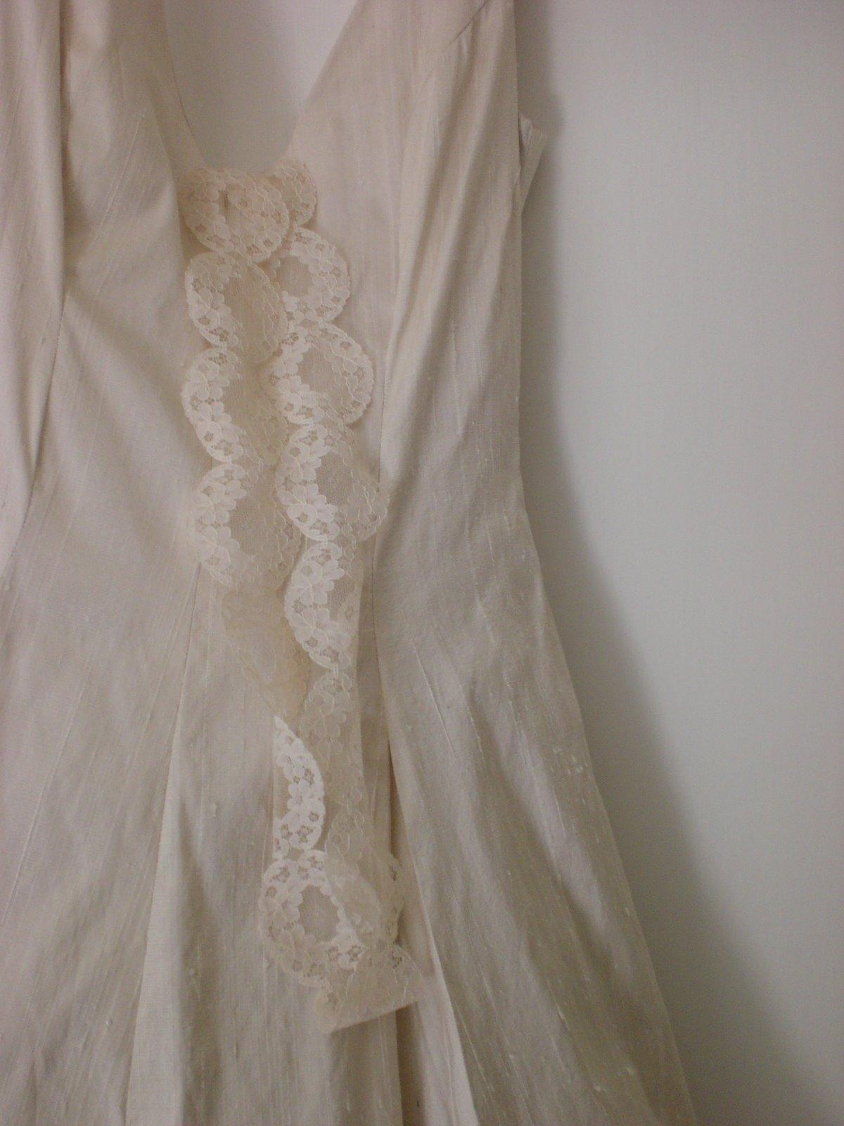 alone: my wedding dress