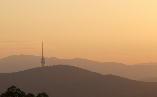 telstrayama sunset