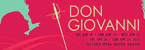 IN PERFORMANCE: Wolfgang Amadeus Mozart's DON GIOVANNI at North Carolina Opera, April 2015 [Photo © by North Carolina Opera]