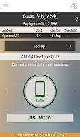 Screenshot of Area Clienti 3
