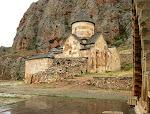 Noravank Monastery, above the Vayots Dzor canyon, Armenia.