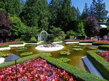 Star Pond, Butchart Gardens