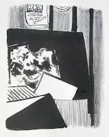 Dej BAO. 082 . Un Chemin dans la Pierre . 1978 .Lithographie . 55 x 36,5 cm