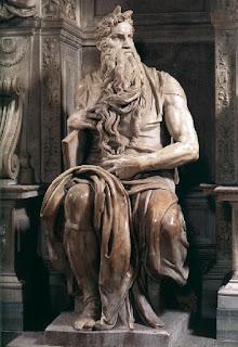 Michelangelo פסל משה