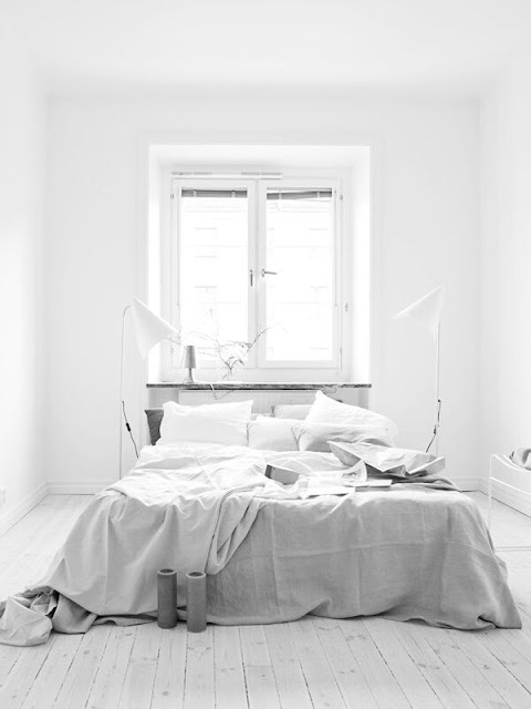 Sypialnia, bedroom, scandinavian style, amazing,romantic, white,