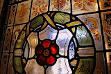 Stained Glass in the King's Bedroom @ Carisbrooke Castle, United Kingdom