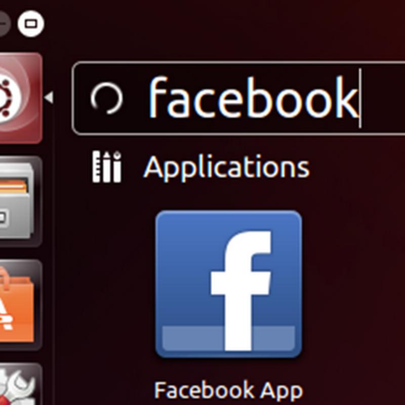 Cómo integrar Facebook en el escritorio de Ubuntu.