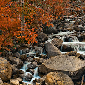 Firewater by Jen Millard - Landscapes Waterscapes ( water, nature, waterfall, colorado )