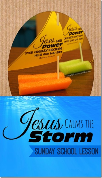 Jesus Calms the Storm - This Jesus Calms the Storm Lesson is perfect Sunday School Lesson with cute Jesus calms the storm craft and Jesus calms the storm game. These are perfect for preschool, prek, kindergarten, first grade, 2nd grade and 3rd grade kids. Lots of other Bible crafts, bible crafts preschool, and Bible Crafts for kids.