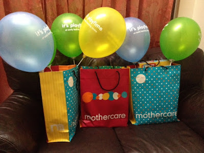 Goodies bag Mothercare Atria Gallery