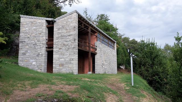 Pietro Lingeri residenze per aertisti Accademia di Brera Isola Comacina Lago di Como