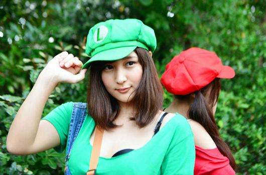 Ngắm Mario và Luigi phiên bản nữ cực đáng yêu - Ảnh 3