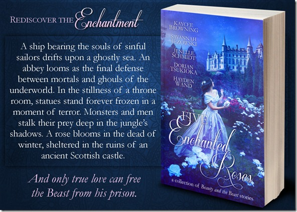 Five Enchanted Roses Banner