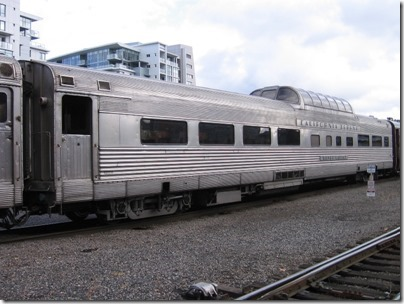 IMG_9775 California Zephyr Dome Coach #4718 Silver Lariat at Union Station in Portland, Oregon on October 21, 2009