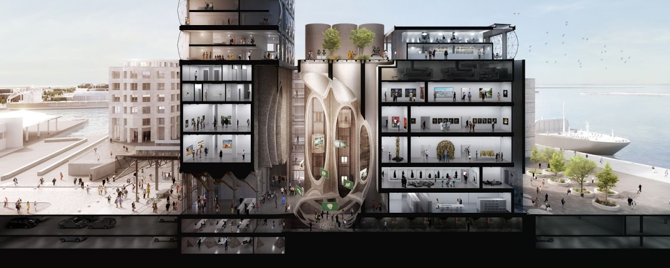Zeitz Mocaa by Heatherwick Studio