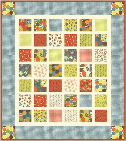 Bugged Out quilt pattern from The Fabric Mill