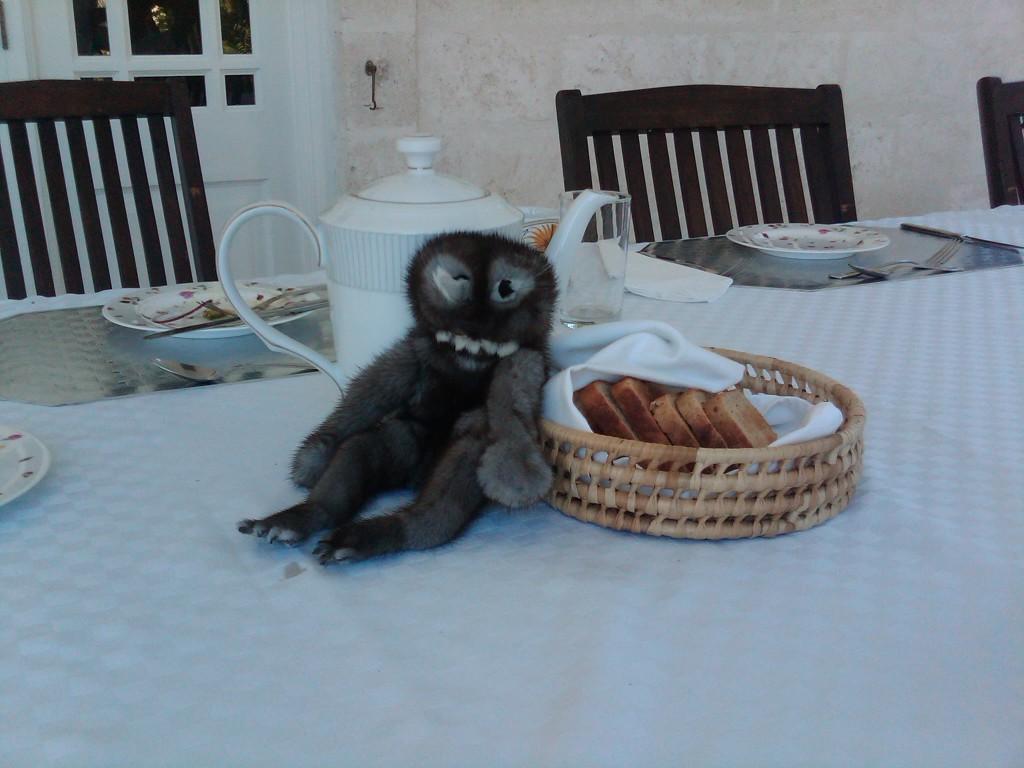 Tea and toast at Casa Bohemia!