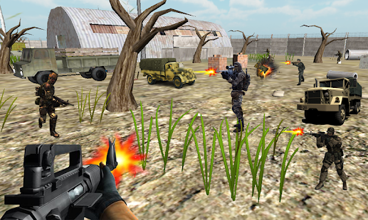 Combat Army Commando Fight- screenshot thumbnail