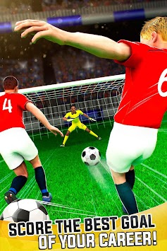 Manchester Devils Soccer - Football Goal Shooting APK screenshot thumbnail 1