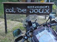 Auf dem Col de Joux.