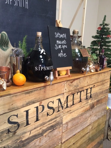 Sipsmith mulled sloe gin and apple - Little House Lovely - Festive Food