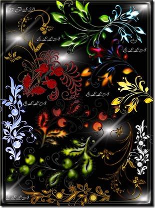 floral png bonus 1