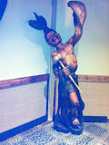 Sculptures at the Kalahari hotel in OH 02192012f