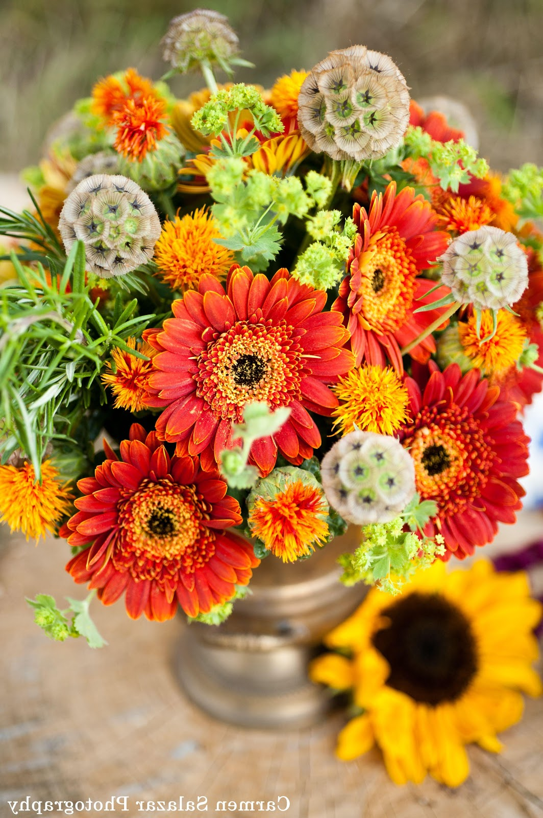 simple fall centerpieces for